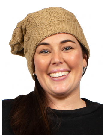 Fashion Beanie - Light Brown