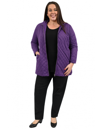 Rapid Quilted Jacket - Purple