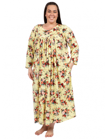 Autumn Fall Nightie - Yellow