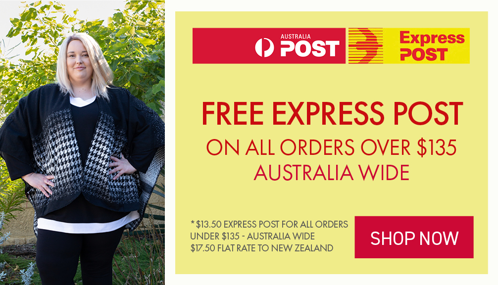 Express Post on all orders