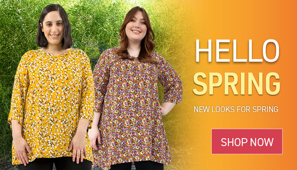 Fresh looks for Spring - out now